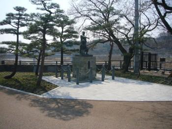 羽村取水所堰下通路整備工事 平成23年3月施工