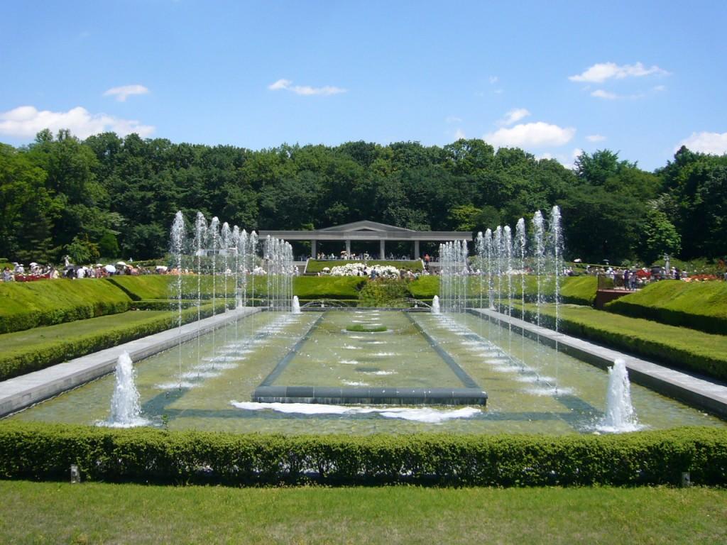 神代植物公園一部整備工事(噴水) 平成22年3月施工