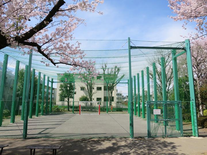 北町なかよし公園 防球フェンス整備工事 平成27年3月竣工