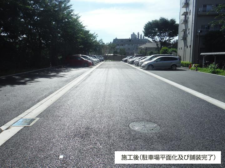 トミンハイム小金井中町 機械式駐車場平面化工事 平成28年7月竣工